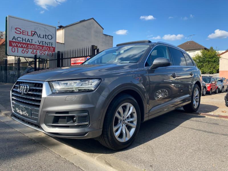 Audi Q7 3.0 V6 TDI 272CH CLEAN DIESEL AVUS QUATTRO TIPTRONIC 7 PLACES Diesel GRIS F Occasion à vendre