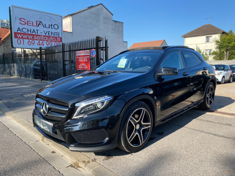 Mercedes-Benz CLASSE GLA (X156) 220 CDI FASCINATION 4MATIC 7G-DCT Diesel NOIR Occasion à vendre
