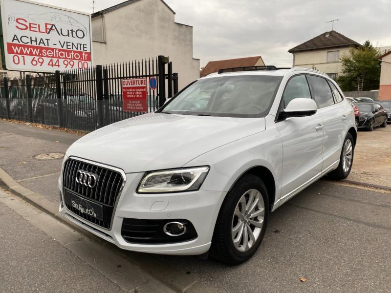 Audi Q5 2.0 TDI 190CH CLEAN DIESEL AVUS S TRONIC 7 Diesel BLANC Occasion à vendre