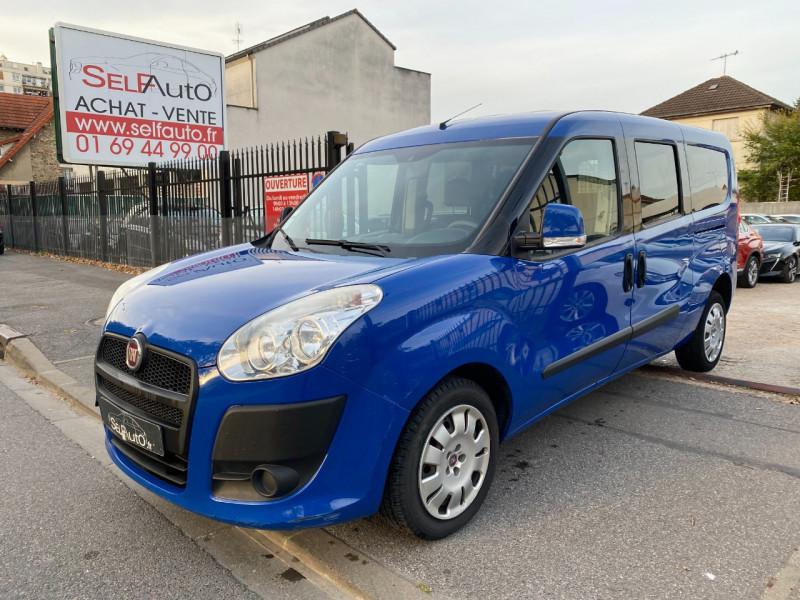 Fiat DOBLO CARGO MAXI 1.3 MULTIJET 16V 90CH CABINE APPROFONDIE PACK PROFESSIONAL Diesel BLEU F Occasion à vendre