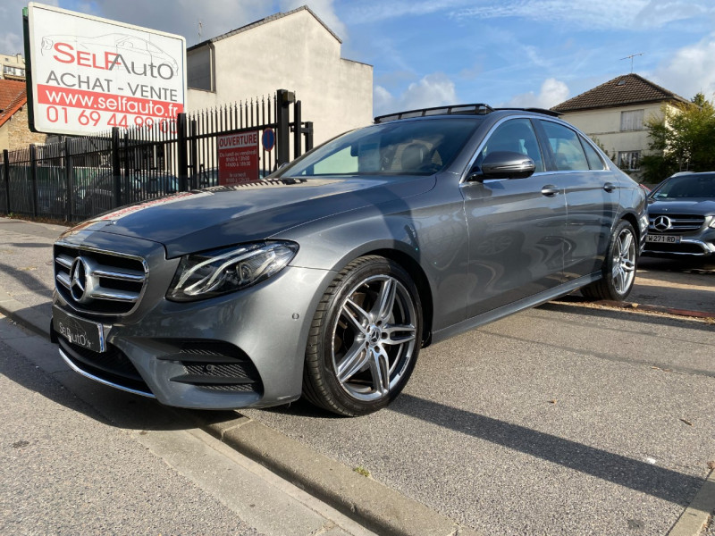 Mercedes-Benz CLASSE E (W213) 200 D 150CH SPORTLINE 9G-TRONIC Diesel GRIS SELENITE Occasion à vendre