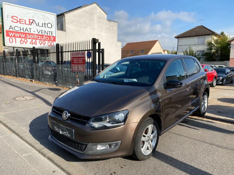 Volkswagen POLO 1.6 TDI 90CH FAP MATCH 5P Diesel MARRON Occasion à vendre
