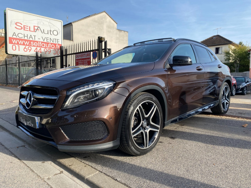 Mercedes-Benz CLASSE GLA (X156) 220 CDI FASCINATION 4MATIC 7G-DCT Diesel MARRON Occasion à vendre
