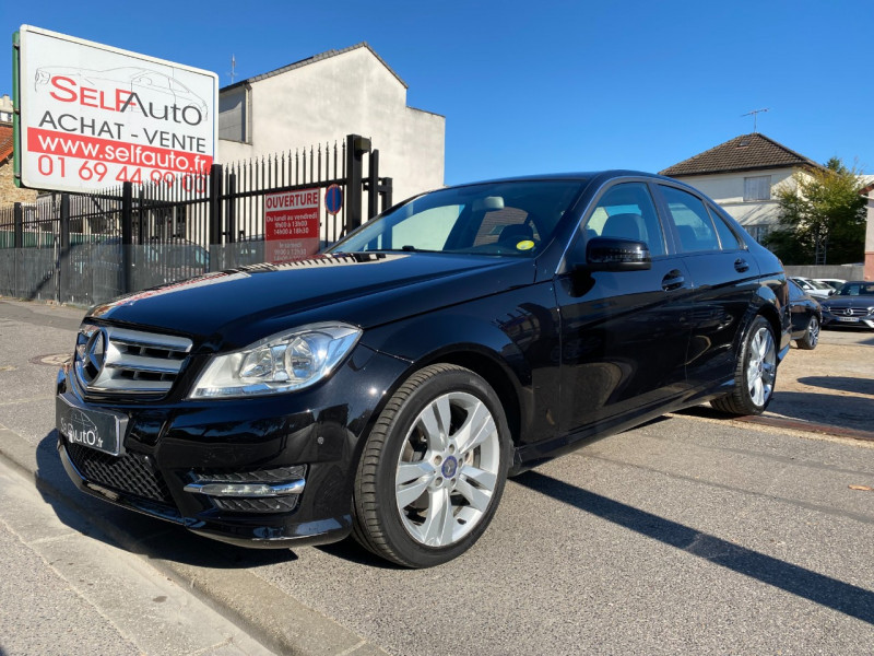 Mercedes-Benz CLASSE C (W205) 250 BLUETEC SPORTLINE  7G-TRONIC PLUS Diesel NOIR Occasion à vendre