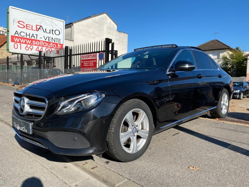 Mercedes-Benz CLASSE E (W213) 220 D 194CH BUSINESS EXECUTIVE 9G-TRONIC Diesel NOIR Occasion à vendre