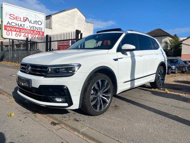Volkswagen TIGUAN ALLSPACE 2.0 TDI 150CH CARAT EXCLUSIVE DSG7 EURO6D-T Diesel BLANC Occasion à vendre