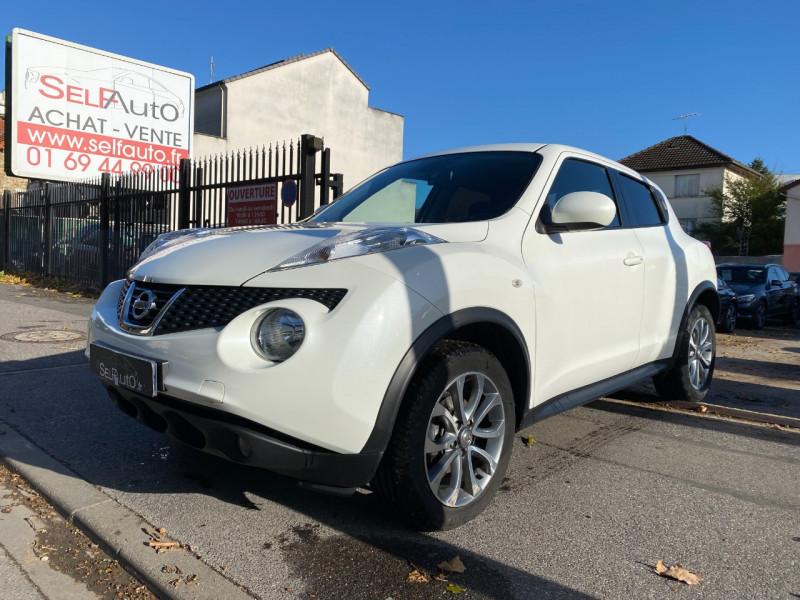 Nissan JUKE 1.5 DCI 110CH TEKNA Diesel BLANC Occasion à vendre