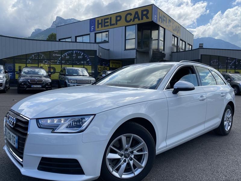 Audi A4 AVANT 2.0 TDI 150CH BUSINESS LINE S TRONIC 7 Diesel BLANC Occasion à vendre