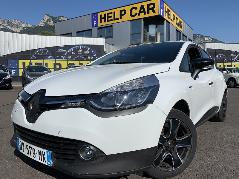Renault CLIO IV 1.2 16V 75CH LIMITED EURO6 2015 Essence BLANC Occasion à vendre