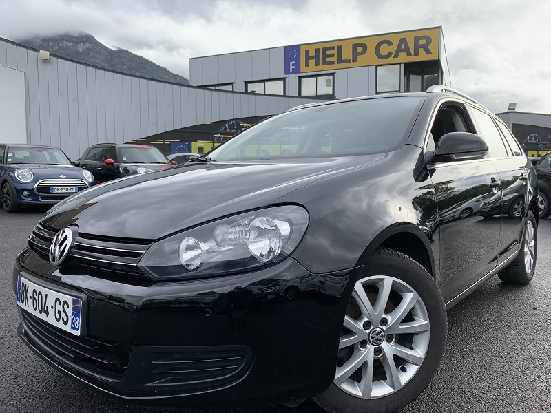 Photo 1 de l'offre de VOLKSWAGEN GOLF VI SW 1.6 TDI 105CH BLUEMOTION FAP CONFORTLINE à 6490€ chez Help car