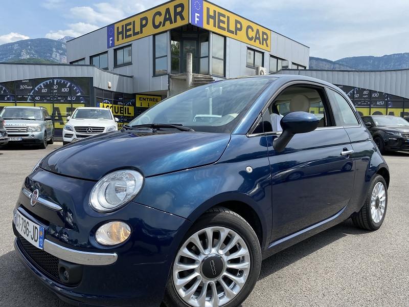 Fiat 500 1.3 MULTIJET 16V 95CH DPF S&S LOUNGE Diesel BLEU Occasion à vendre