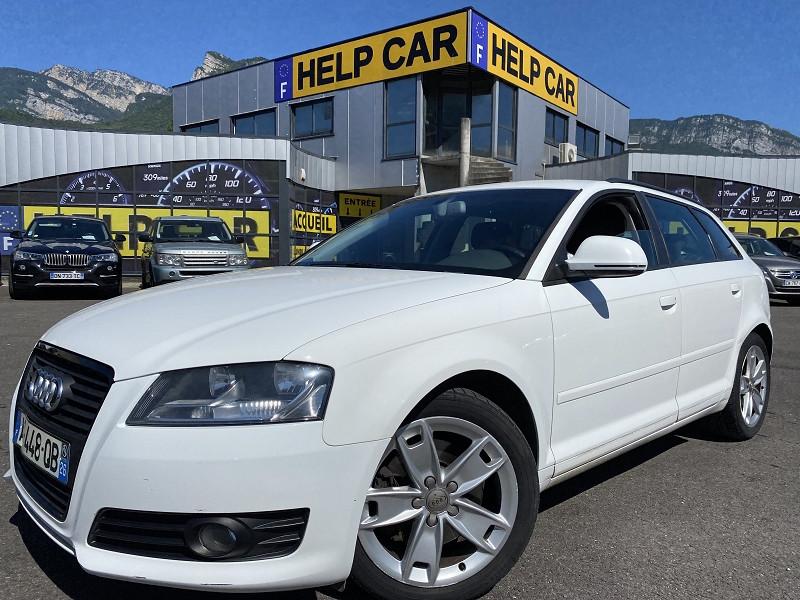 Audi A3 SPORTBACK 2.0 TDI 140CH DPF AMBITION Diesel BLANC Occasion à vendre