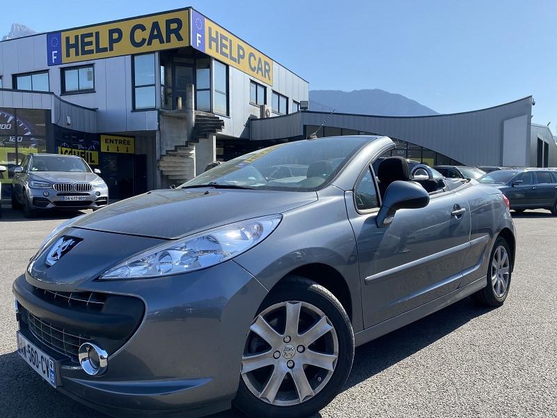 Peugeot 207 CC 1.6 HDI110 FAP SPORT Diesel ANTHRACITE Occasion à vendre