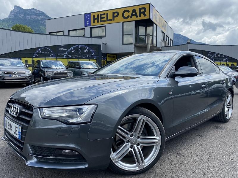 Audi A5 SPORTBACK 2.0 TDI 177CH S LINE MULTITRONIC Diesel GRIS F Occasion à vendre