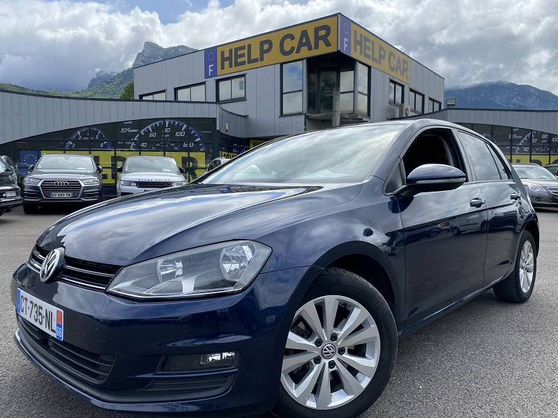 Volkswagen GOLF VII 1.6 TDI 105CH BLUEMOTION TECHNOLOGY FAP CONFORTLINE BUSINESS 5P Diesel BLEU Occasion à vendre