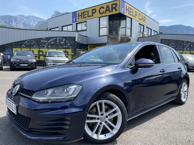 Volkswagen GOLF VII GTD 2.0 TDI 184CH BLUEMOTION TECHNOLOGY FAP GTD 5P Diesel BLEU Occasion à vendre