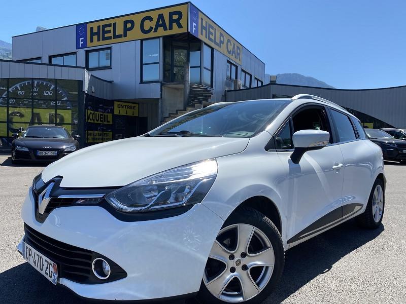 Renault CLIO IV ESTATE 1.5 DCI 90CH ENERGY INTENS ECO² 90G Diesel BLANC Occasion à vendre