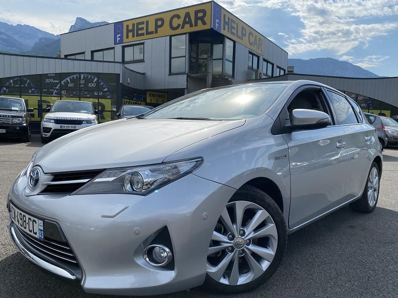 Toyota AURIS HSD 136H EXECUTIVE CONNECT 5P Hybride GRIS C Occasion à vendre