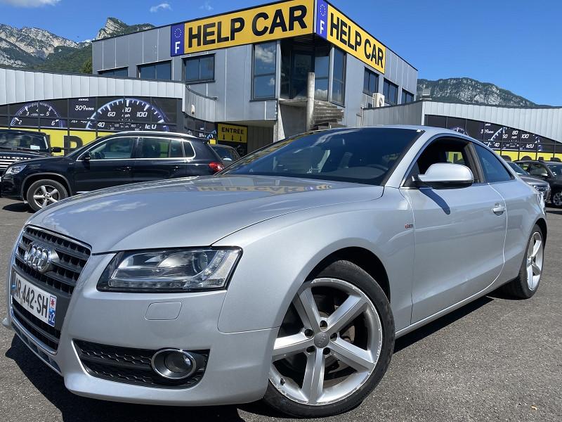 Audi A5 2.7 V6 TDI 190CH DPF S LINE MULTITRONIC Diesel GRIS C Occasion à vendre