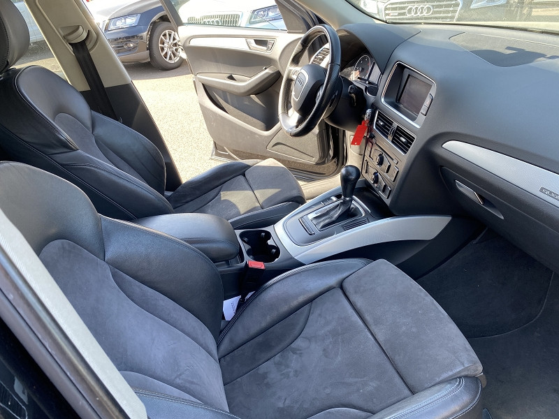 Photo 4 de l'offre de AUDI Q5 2.0 TDI 170CH FAP AMBITION LUXE QUATTRO S TRONIC 7 à 11990€ chez Help car