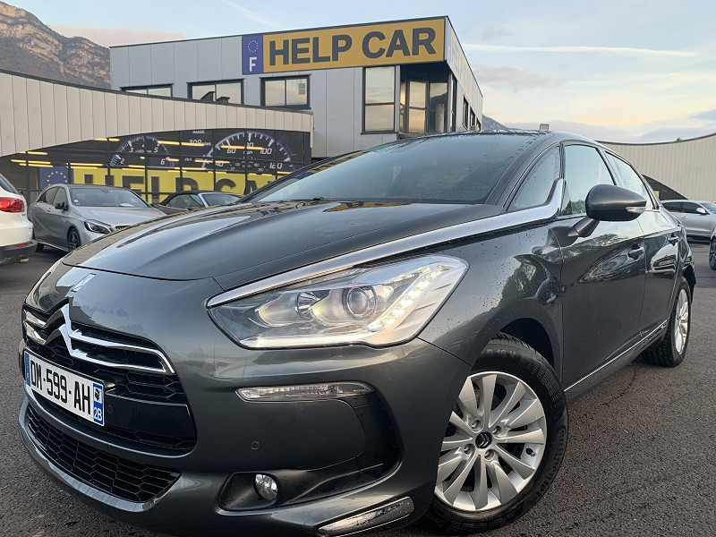 Citroen DS5 1.6 E-HDI115 SO CHIC ETG6 Diesel GRIS F Occasion à vendre