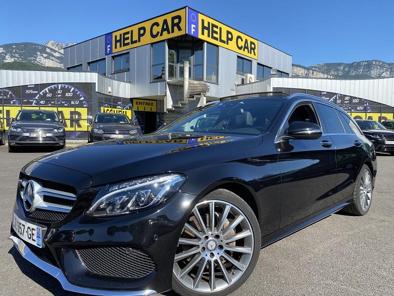 Photo 1 de l'offre de MERCEDES-BENZ CLASSE C BREAK (S205) 220 D SPORTLINE 7G-TRONIC PLUS à 24990€ chez Help car