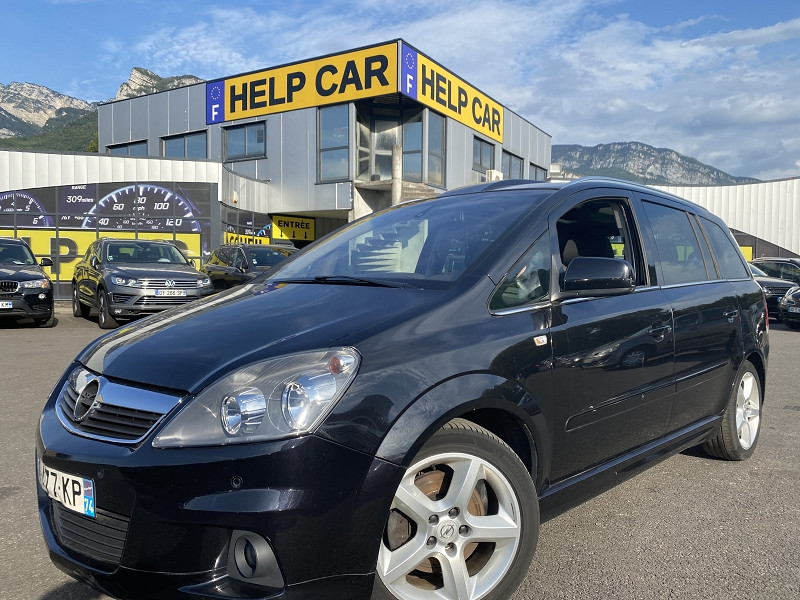 Opel ZAFIRA 1.7 CDTI125 FAP MAGNETIC Diesel NOIR Occasion à vendre