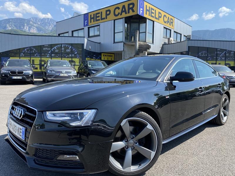 Audi A5 SPORTBACK 2.0 TDI 190CH S LINE QUATTRO S TRONIC 7 Diesel NOIR Occasion à vendre