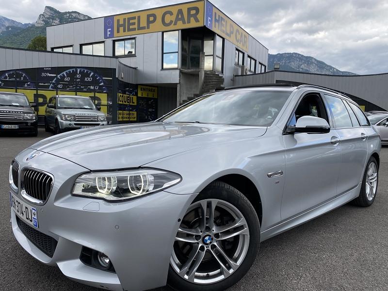 Bmw SERIE 5 TOURING (F11) 520DA XDRIVE 190CH M SPORT Diesel GRIS Occasion à vendre