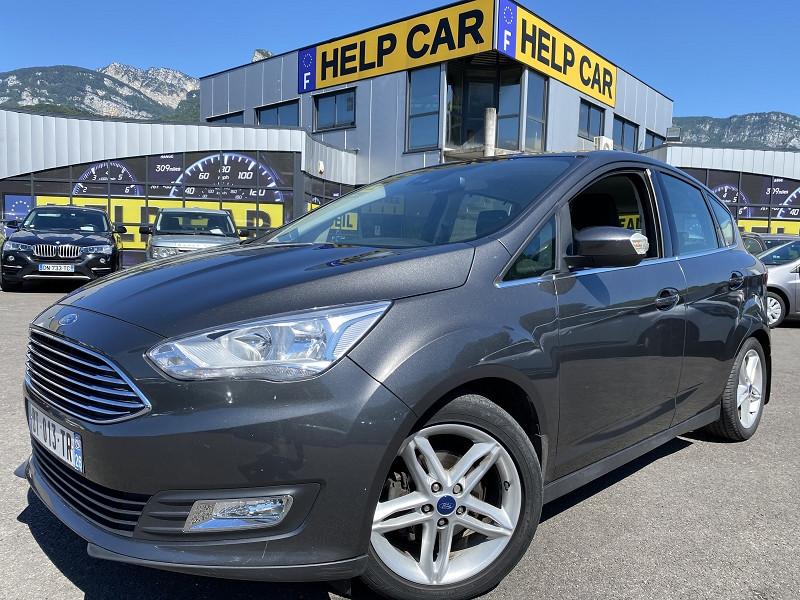 Ford C-MAX 1.5 TDCI 120CH STOP&START TITANIUM Diesel GRIS F Occasion à vendre