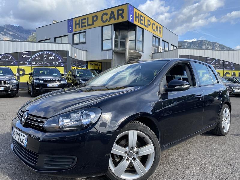 Volkswagen GOLF VI 2.0 TDI 110CH FAP CONFORTLINE 5P Diesel NOIR Occasion à vendre