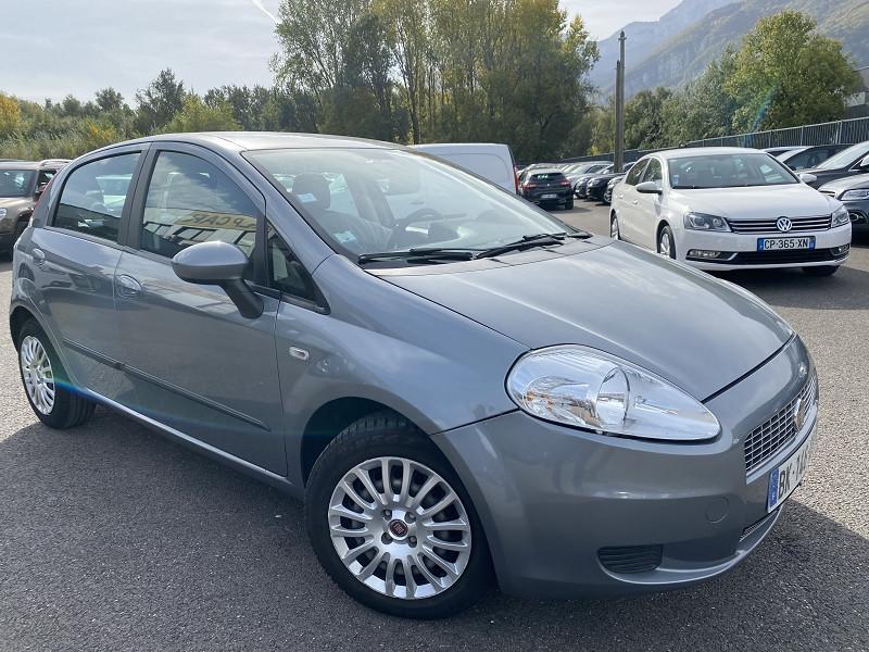 Fiat GRANDE PUNTO 1.2 8V 65CH DYNAMIC 5P Essence GRIS C Occasion à vendre