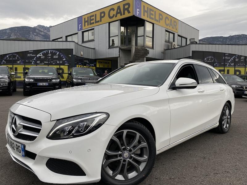 Mercedes-Benz CLASSE C BREAK (S205) 180 D BUSINESS 7G-TRONIC PLUS Diesel BLANC Occasion à vendre