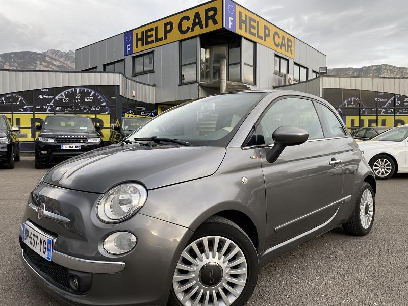 Fiat 500 0.9 8V TWINAIR 85CH S&S LOUNGE Essence GRIS F Occasion à vendre