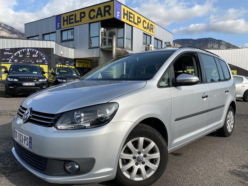 Volkswagen TOURAN 1.6 TDI 105CH 7 PLACES CONFORTLINE Diesel GRIS Occasion à vendre