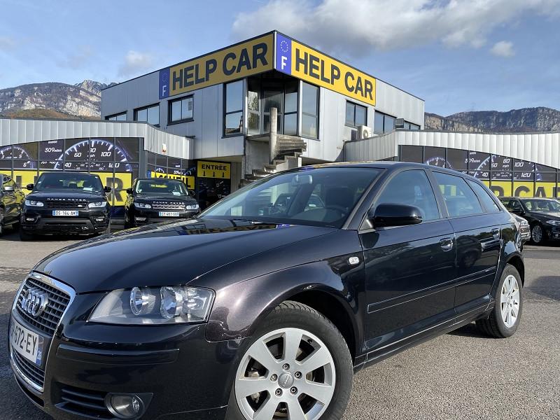 Audi A3 SPORTBACK 1.9 TDI 105CH AMBITION Diesel NOIR Occasion à vendre