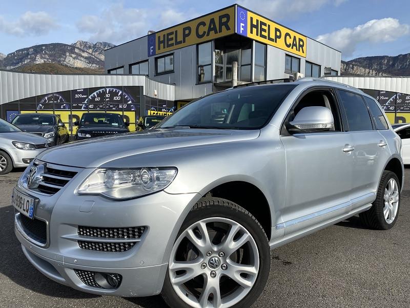 Volkswagen TOUAREG 3.0 V6 TDI 240CH DPF CARAT EDITION TIPTRONIC Diesel GRIS C Occasion à vendre