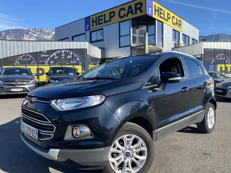 Ford ECOSPORT 1.0 ECOBOOST 125CH TITANIUM Essence NOIR Occasion à vendre