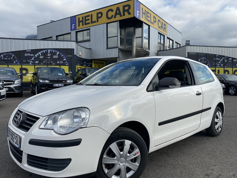 Volkswagen POLO 1.4 TDI 70CH 3P Diesel BLANC Occasion à vendre