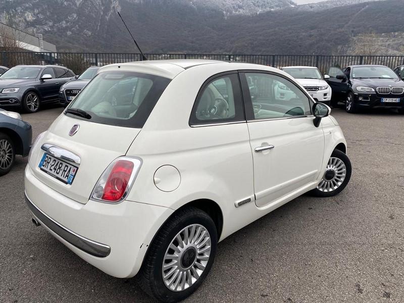 Photo 3 de l'offre de FIAT 500 1.2 8V 69CH S&S LOUNGE à 6990€ chez Help car