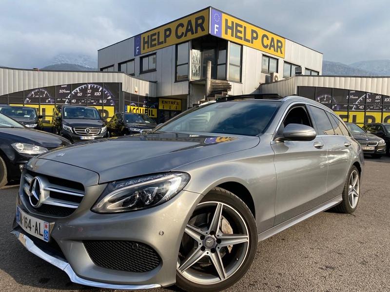 Mercedes-Benz CLASSE C BREAK (S205) 220 BLUETEC FASCINATION 7G-TRONIC PLUS Diesel GRIS C Occasion à vendre