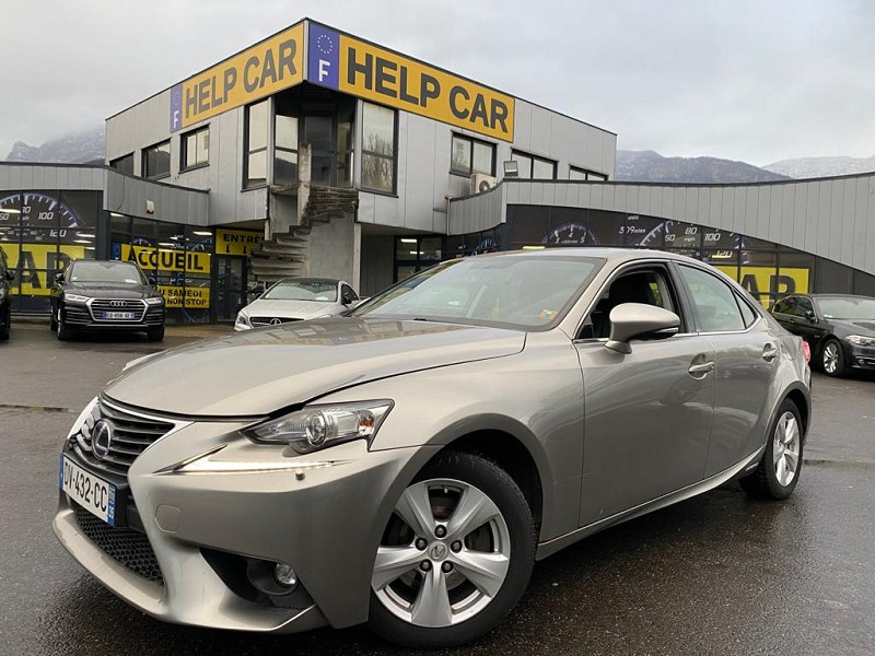 Lexus IS 300H PACK BUSINESS Hybride GRIS F Occasion à vendre