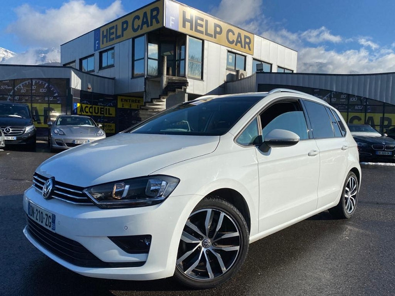 Volkswagen GOLF SPORTSVAN 1.6 TDI 110CH BLUEMOTION FAP CONFORTLINE Diesel BLANC Occasion à vendre