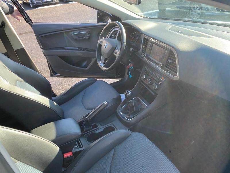 Photo 4 de l'offre de SEAT LEON 1.6 TDI 105CH FAP I-TECH START&STOP à 11990€ chez Help car
