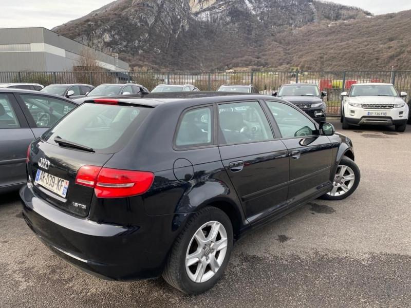 Audi A3 SPORTBACK 1.6 TDI 105CH DPF START/STOP AMBIENTE Diesel NOIR Occasion à vendre