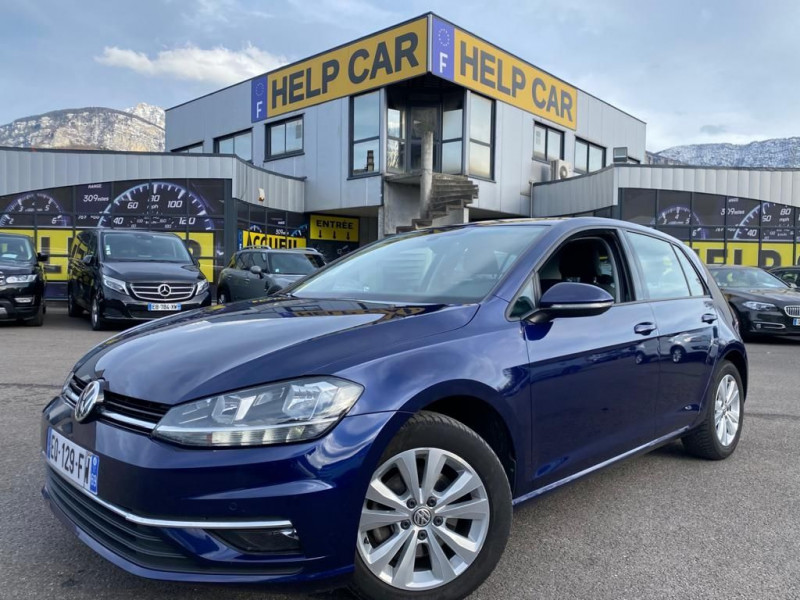 Volkswagen GOLF VII 1.6 TDI 115CH BLUEMOTION TECHNOLOGY FAP CONFORTLINE 5P Diesel BLEU F Occasion à vendre