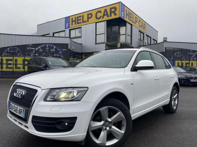 Audi Q5 2.0 TDI 170CH FAP START/STOP S LINE QUATTRO Diesel BLANC Occasion à vendre