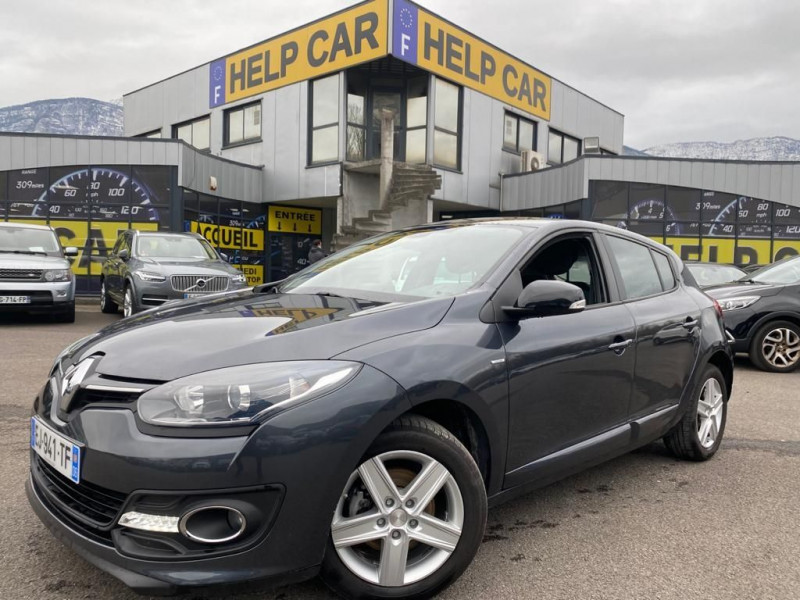Renault MEGANE III 1.2 TCE 115CH ENERGY LIMITED EURO6 2015 Essence GRIS F Occasion à vendre