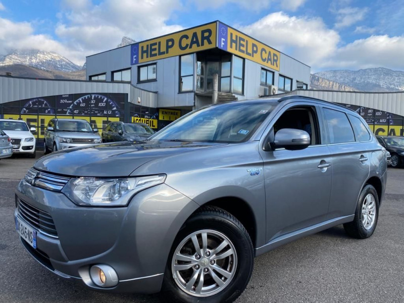 Mitsubishi OUTLANDER PHEV HYBRIDE RECHARGEABLE INTENSE Hybride GRIS Occasion à vendre