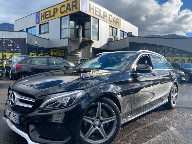 Mercedes-Benz CLASSE C BREAK (S205) 220 D FASCINATION 9G-TRONIC Diesel NOIR Occasion à vendre